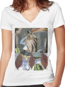 rope trick Women's Fitted V-Neck T-Shirt