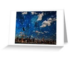 The City in Which I Love You Greeting Card