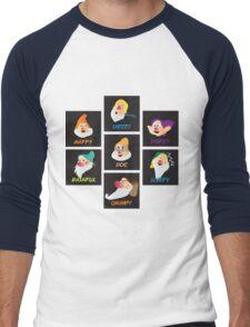 the 7 dwarfs Men's Baseball ¾ T-Shirt