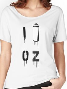 I PAINT OZ Women's Relaxed Fit T-Shirt