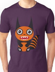 Cute cartoon orange monster Unisex T-Shirt