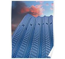 High Rise Office Building Poster