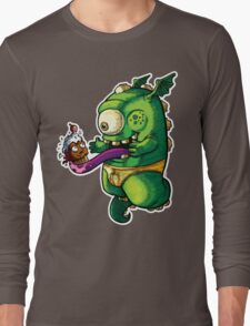 Oh No! Cupcake Monster Long Sleeve T-Shirt