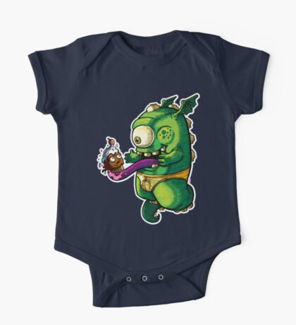 Oh No! Cupcake Monster One Piece - Short Sleeve