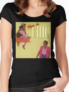 Chic-Tongue In Chic Women's Fitted Scoop T-Shirt