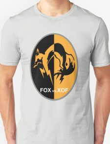 Metal Gear FOX vs XOF Art T-Shirt
