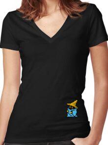 Vivi Women's Fitted V-Neck T-Shirt