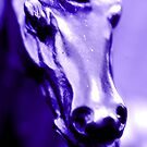 """PURPLE HORSE"" macro by Justine Walke"