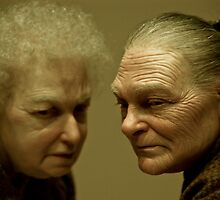 Two Old Ladies by Greg Blair