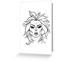Madame Leota Greeting Card