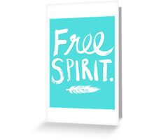 Free Spirit Greeting Card