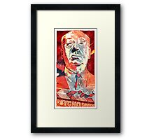 psycho icon Framed Print