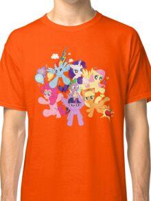 My Little Pony FiM - The Mane Six Classic T-Shirt