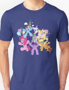 My Little Pony FiM - The Mane Six T-Shirt