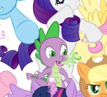 My Little Pony FiM - The Mane Six Sticker