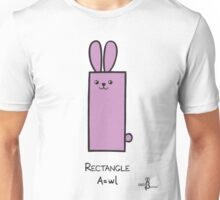 Rectangle GeoBunny Unisex T-Shirt