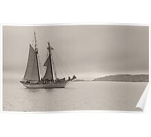 Tall Ship Poster