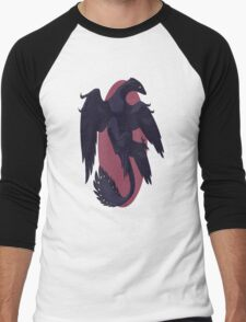 Muted Microraptor Men's Baseball ¾ T-Shirt