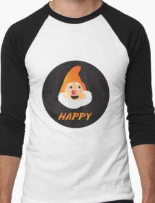 HAPPY DWARF Men's Baseball ¾ T-Shirt