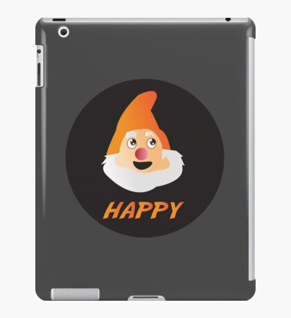 HAPPY DWARF iPad Case/Skin