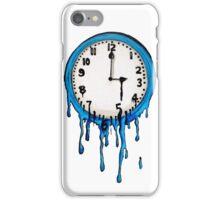 Melting Clock Persistence of Memory iPhone Case/Skin