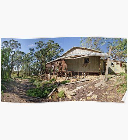 Stockman's Hut - Blanchetown, South Australia Poster