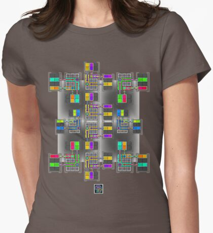 """Matrix Multiplication""© Womens Fitted T-Shirt"