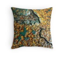 Rust In The Elements Throw Pillow