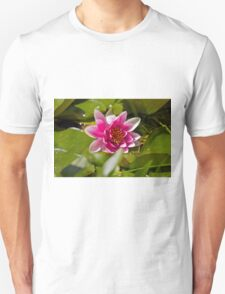 Pink Water Lily T-Shirt
