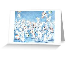 Bunny Herd Greeting Card