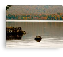 Autumn Ripples Canvas Print
