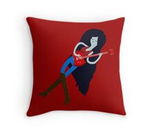 Marceline the Vampire Queen Throw Pillow