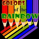 Rainbow Color  Pencils (1962 Views) by aldona