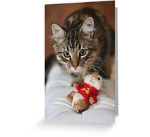 Rubix and the Chipmunk Greeting Card