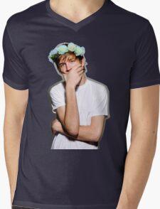 Bo Burnham Flower crown Mens V-Neck T-Shirt