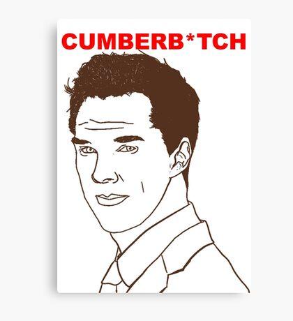 Cumberb*tch Canvas Print