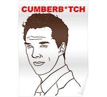 Cumberb*tch Poster