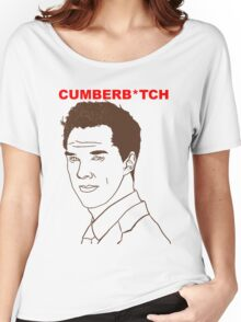 Cumberb*tch Women's Relaxed Fit T-Shirt