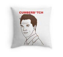 Cumberb*tch Throw Pillow