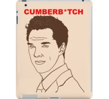 Cumberb*tch iPad Case/Skin