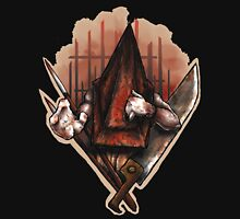 Red Pyramid Thing Womens Fitted T-Shirt