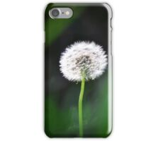 Glowing Dandelion iPhone Case/Skin