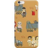 Across the Wasteland (in Tawny) iPhone Case/Skin