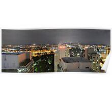 Brisbane CBD Night View 3 Poster