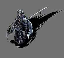 Sephiroth FF7 by NightwingDing