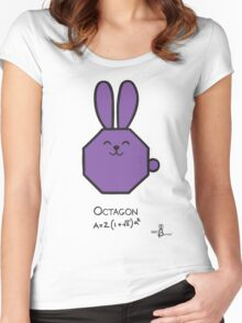 Octagon GeoBunny Women's Fitted Scoop T-Shirt