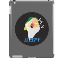 SLEEPY DWARF iPad Case/Skin