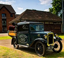 Austin Seven Pickup by David J Knight