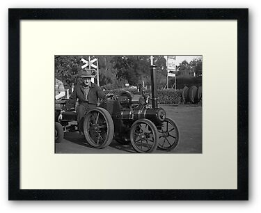 Model Steam Traction Engine by Derwent-01