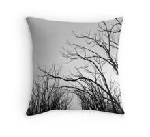 Eerie Throw Pillow